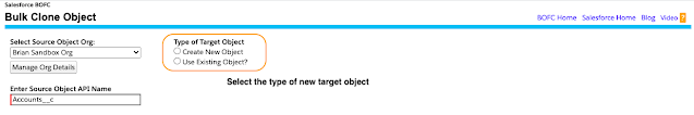 Create New Target Object