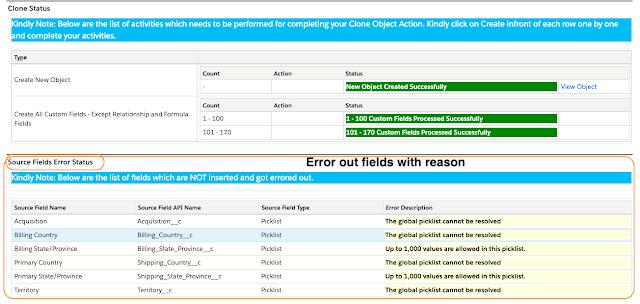 Source Field Error Status field