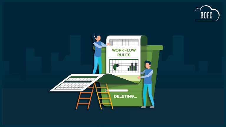 "Delete ""Multiple Workflow Rules"" In Salesforce"