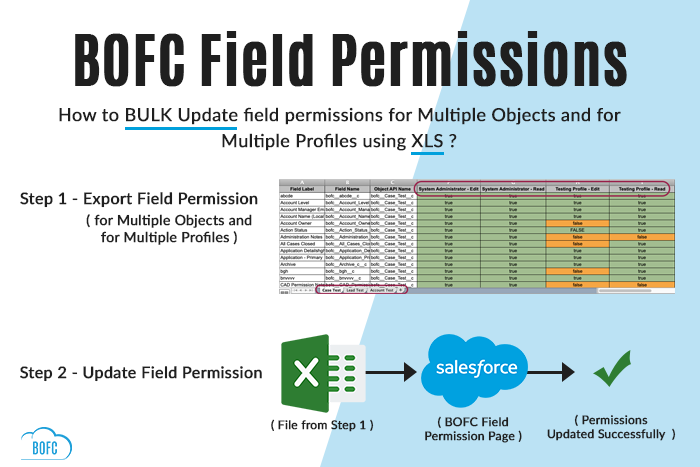 Export and Update Field Permission using (Xls)