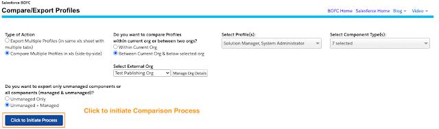 Click to Initiate Process