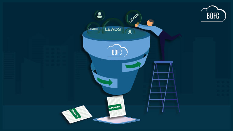 bulk lead conversion using standard salesforce process