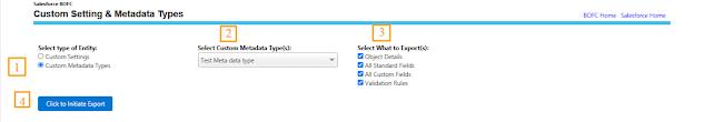 Manage Custom Metadata Types