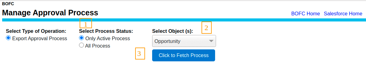 Select the Type operation
