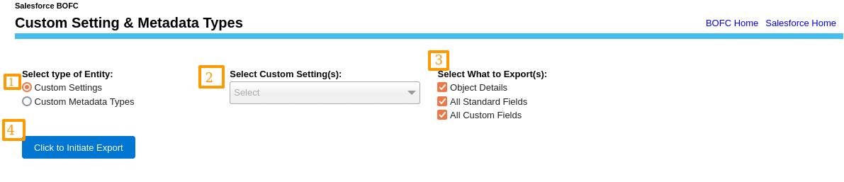 Manage Custom Settings